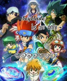 Beyblade beyblade let it rip:-)
