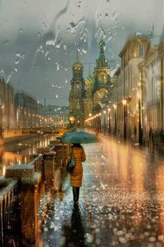 Interesting Photo of the Day: A Rainy Day in Russia - http://thedreamwithinpictures.com/blog/interesting-photo-of-the-day-a-rainy-day-in-russia