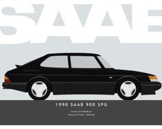 The 1990 SAAB 900 SPG Imagining