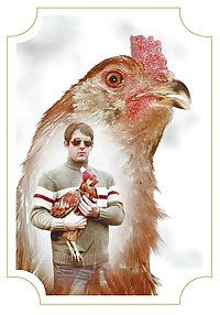 Dramatic chicken.