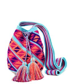 Miss Mochila Print Bucket Bag - Shop more of the best and brightest summer bags: http://www.harpersbazaar.com/fashion/fashion-articles/best-summer-bags