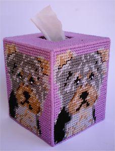 Free Plastic Canvas Magnet Patterns | Yorkie Yorkshire Terrier Tissue Topper Plastic Canvas Pattern | eBay