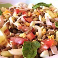 Recept : Čočkový salát II. | ReceptyOnLine.cz - kuchařka, recepty a inspirace Cobb Salad