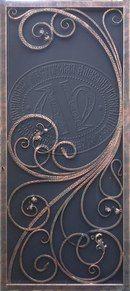 Fotos de Aleksandr Aleksandrov Art Nouveau, Art Deco, Metal Fab, Blacksmith Shop, Steel Art, Grill Design, Iron Doors, Steel Doors, Blacksmithing