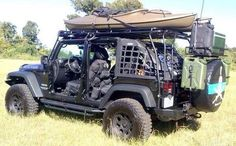 JeepWranglerOutpost.com - perfect setup, I want one like this!!!