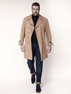 Zach Miko Talks Becoming a Plus Size Male Model, Dispelling Big Guy Myths - Plus Size Male Models - Men's Fashion, Big Men Fashion, Trend Fashion, Plus Size Fashion, Fashion Rings, Fashion Guide, Fashion Photo, Img Models, Male Models