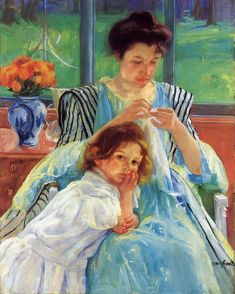 Young Mother 1900 | Mary Cassatt | Oil Painting