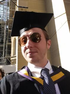 Obligatory #salcgrad selfie. It's too warm to be wearing a suit.