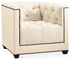 Paris Club Chair - Baker Furniture - modern - chairs - Baker Furniture