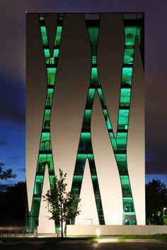 O.A.S.E. Medical Library project, Düsseldorf, Germany by HPP Architects