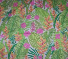 """Lilly Pulitzer's """"White Botanical Garden"""" print. Picture Yourself in Paradise at www.floridanest.com"""