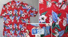 Hawaiian shirt by RJC   bold, naturalistic hibiscus pattern