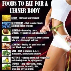 Want a leaner body?  Incorporate these to your juices/meals!