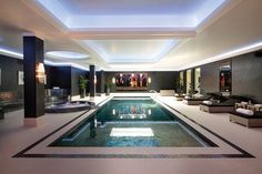 The Halcyon, Winnington Road, N2 - Indoor swimming pool and leisure complex #luxuryhouses #modernpoolandspa