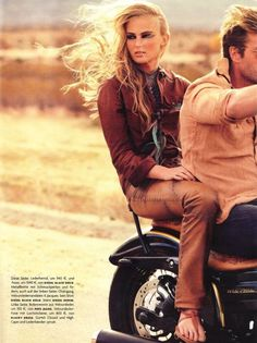 summer motorcycle ride: she has to trust you, you hold her life in your hands.