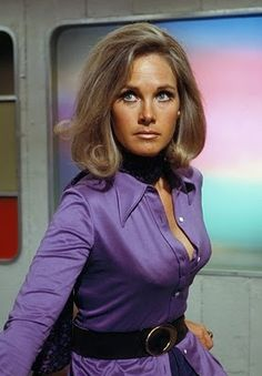 Gerry Anderson's UFO (British Sci-Fi).  Wanda Ventam - Benedict Cumberbatch's Mum in real life