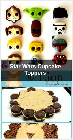 Star Wars Cupcake Toppers, Star Wars Cupcakes, Rocket Cake, Candy Cane Cookies, Star Cakes, Space Party, Cookie Dough, Peppermint, Sprinkles