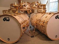 Custom DW Drums - looks like some  piccolo toms