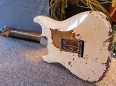 1961 Orig Fender Strat Olympic White Came From Berlin Germany