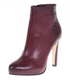 High heeled ankle boots, Roberto Botella - bordeaux