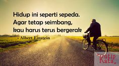 Motto Hidup Singkat Tapi Bermakna - Albert Einstein