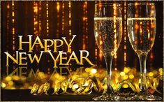 Decent Image Scraps: Happy New Year Happy New Year Fireworks, Happy New Year Images, Happy New Year Wishes, New Year Greetings, Happy Year, Noel Christmas, Merry Christmas And Happy New Year, Christmas Quotes, Gif Silvester
