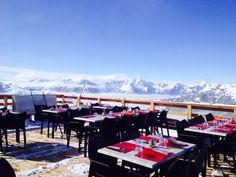 Restaurant l'alpage 1890 m St François Longchamp  Alpes France