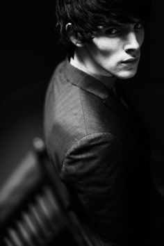 Colin Morgan. He should have played Finnick! I totally picture him like this!
