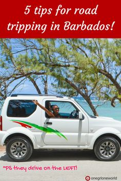 5 Tips for Road Tripping in Barbados! I love Caribbean road trips, they're the best! PS Barbados drives on the LEFT!