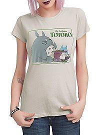 HOTTOPIC.COM - Studio Ghibli Her Universe My Neighbor Totoro Feast Logo Girls T-Shirt