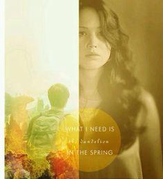 Hunger Games Quote / Katniss / Peeta