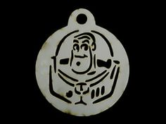 Stencil Buzz Lightyear