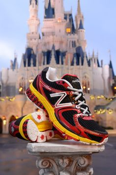 Run Disney Micky running shoes!!!!  I am so after a pair of these :)  They're my motivation to run!