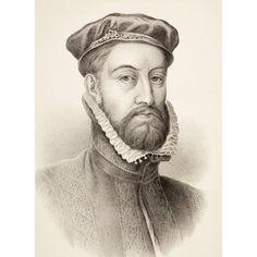James Stewart 1St Earl Of Moray C 1531 Canvas Art - Ken Welsh Design Pics (24 x 34)