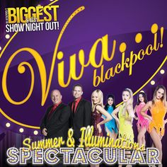 """VIVA Summer Spectacular"" on July 24, 2015 at 6:00pm-11:30pm. Your host, VIVA's very own Leye D Johns presents Blackpool's Biggest and Best Show Night Out. If you're looking for a great night out then look no further than our Summer and Illuminations Spectacular! Category: Cabaret and Burlesque. Artists / Speakers: Leye D Johns, VIVA Showgirls, Phil Jeffries, Emma Wright, Dominic Creighton, Tom McLeod, Max Fox, Johnny James Wright, Ella Coleman, Jennifer Ball. Prices: £17.50-£37.90."