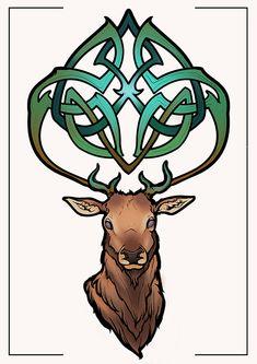 deer celtic