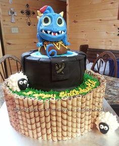 Cool Wrecking Ball Skylander Cake...
