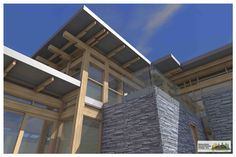 Samuelson Timberframe Design Inc. is a design studio committed to providing innovative custom timber frame design, illustrations & animations, and complete construction drawings for the discerning home owner. Construction Drawings, Timber Frame Homes, West Coast, Multi Story Building, House Design, Contemporary, Building Plans, Timber Frame Houses, Architecture Illustrations