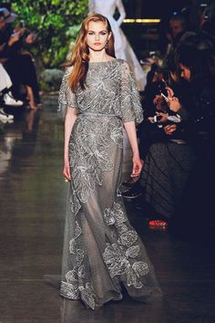 Fashion Inspiration -- Runway : Elie Saab Spring 2015 Couture -- a slideshow…