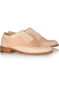 Suntanned leather brogues ++ esquivel