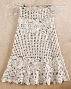 New crochet pattern in my shops - Crochet Lace Tired Maxi Skirt Pattern. Boho Chic, Cottage Chic, Hippie Style Skirt.