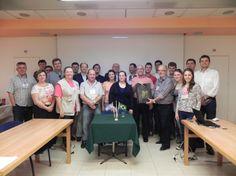 Evento reúne grupo de caxienses que participaram das Missões a Israel. O jantar de confraternizão contou com a presença do DIretor Executivo da FIRS, Albert Poziomyck e dois técnicos israelenses.