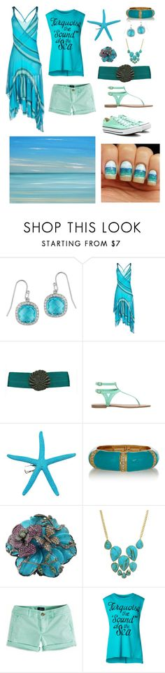 """Daughter of Poseidon"" by nicole-shedd ❤ liked on Polyvore featuring Reeds Jewelers, Missoni, Pull&Bear, Hot Topic, Kenneth Jay Lane, Wendy Yue, Jules Smith, American Eagle Outfitters, Benetton and Converse"