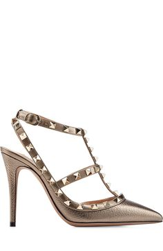 Love these shoes by VALENTINO Leather Rockstud Pumps - $1045