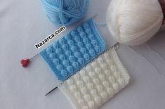 iki-sis-kabarik-sirali-fistikli-orgu-deseni Moda Emo, Cross Stitch Embroidery, Crochet Hats, Knitting, Sweaters, Model, Fashion, Knitting Needles, Crochet Blankets