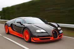 Los carros mas rápidos del mundo, 9 que hicieron historia. Bugatti Veyron EB 16.4, 2005. 405 km/h. El Rey.