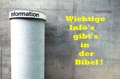 Info - christliche Spruchkarte, Grusskarte, e-card    © www.die-spruchbude.de / Foto: Allzweckjack - photocase.com