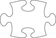 Free Puzzle Piece Clip Art of Puzzle piece template on autism awareness crafts clip art image for your personal projects, presentations or web designs. Puzzle Piece Template, Art Template, Templates, Puzzle Pieces, Autism Awareness Crafts, Personalized Puzzles, Visual Aids, Book Week, Tatoo