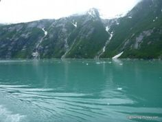 Cruising Tracy Arm Fjord on the Disney Cruise Line Alaska Itinerary with @Ric Flack