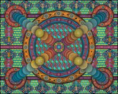 """""""Panic Struck"""" - Printed on """"Warren Dull"""" cover stock, an archival paper printed with archival inks. Print size is 26"""" x 31.5"""" . Titled after the band """"Widespread Panic"""". #dormroomart #collegeart #hippieart #psychedelicart #abstractart #artgiftideas #cheapposters #homedecor #walldecor #wallart"""